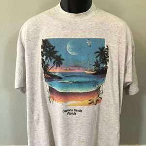 1996 Daytona Beach Florida Shirt Graphic Tee